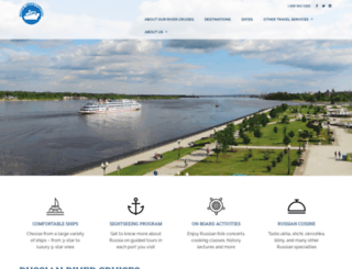 russiancruisecompany.com screenshot