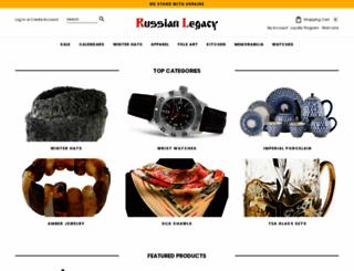 russianlegacy.com screenshot
