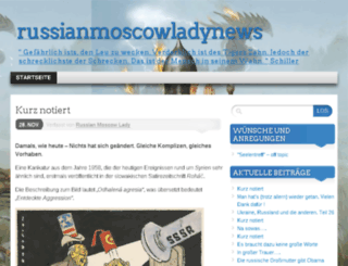 russianmoscowladynews.com screenshot