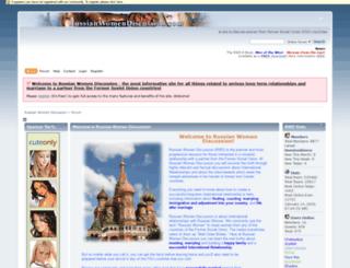 russianwomendiscussion.com screenshot