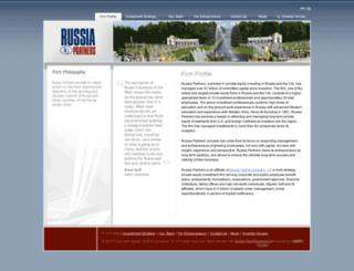 russiapartners.com screenshot