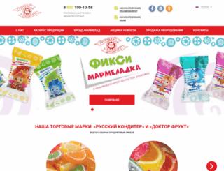russkonditer.ru screenshot