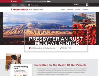 rust-medical-center.phs.org screenshot
