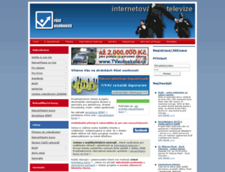 rust-osobnosti.cz screenshot