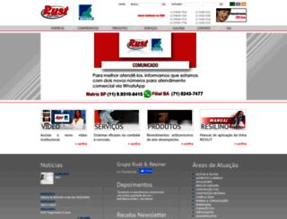 rust.com.br screenshot