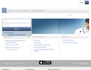 rustaqhospital-elibrary.com screenshot