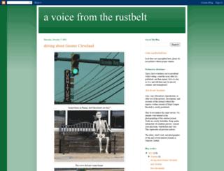 rustbeltvoice.blogspot.com screenshot