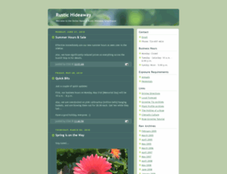 rusthide.blogspot.nl screenshot
