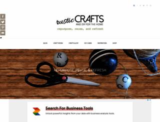 rustic-crafts.com screenshot