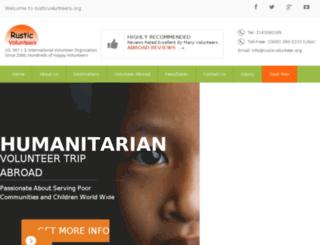 rustic-volunteer-travel.com screenshot