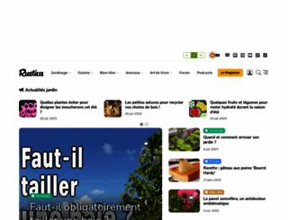 rustica.fr screenshot