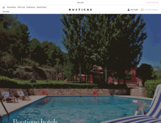 rusticae.com screenshot