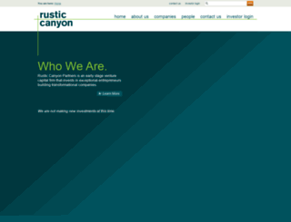 rusticcanyon.com screenshot