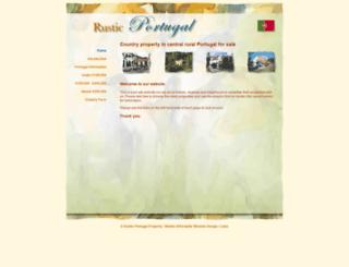 rusticportugal.com screenshot