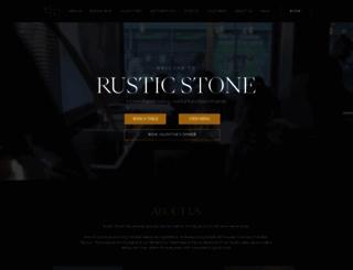 rusticstone.ie screenshot
