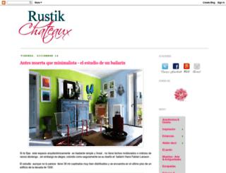 rustikchateaux.blogspot.com screenshot