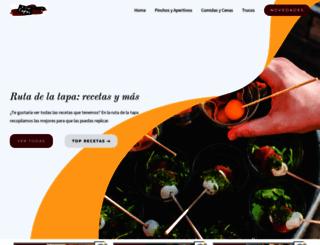 rutadelatapatorrevieja.com screenshot