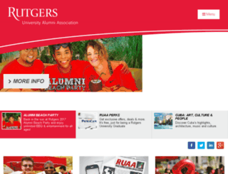 rutgers.imodules.com screenshot