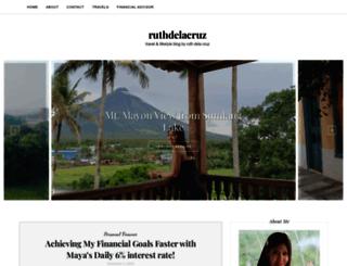 ruthdelacruz.com screenshot