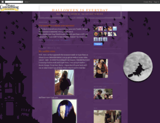 ruthieloveshalloween.blogspot.com screenshot