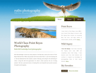ruthsphoto.com screenshot
