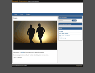 rutinasdeentrenamiento.es screenshot