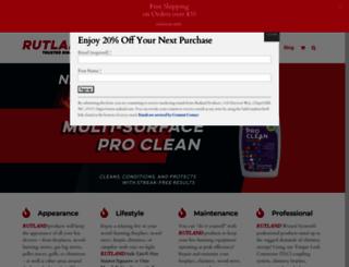 rutland.com screenshot