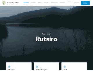 rutsiro.gov.rw screenshot