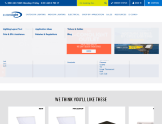 ruudlightingdirect.com screenshot