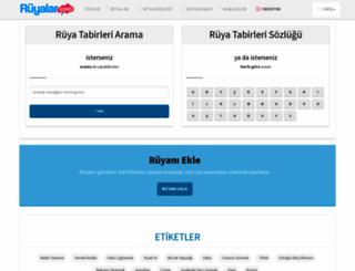 ruyalar.com screenshot