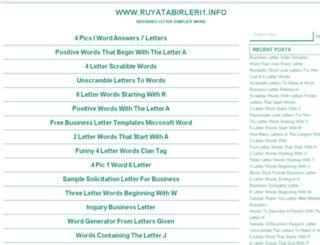 ruyatabirleri1.info screenshot
