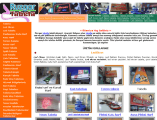 ruzgartabela.com screenshot