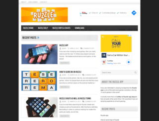 ruzzleapp.com screenshot