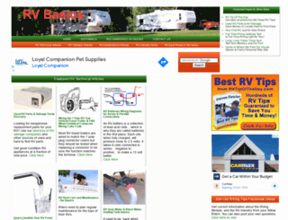 rvbasics.com screenshot