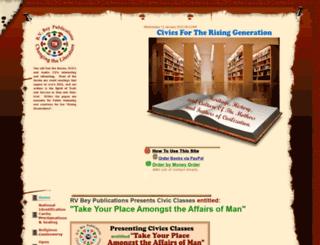 rvbeypublications.com screenshot