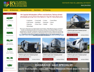 rvcapitalwholesalers.com screenshot