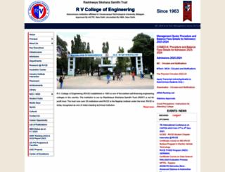 rvce.edu.in screenshot