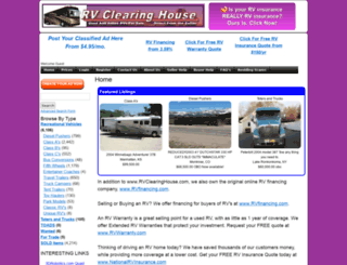 rvclearinghouse.com screenshot