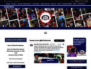 rvcschools.org screenshot