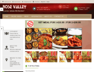 rvdining.co.uk screenshot