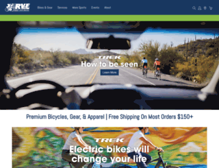 rvebike.com screenshot