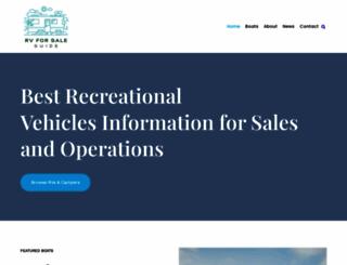 rvforsaleguide.com screenshot