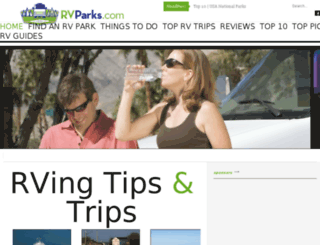 rvparks.com screenshot