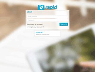 rvrapid.realviewdigital.com screenshot