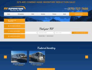 rvsuperstorenv.com screenshot