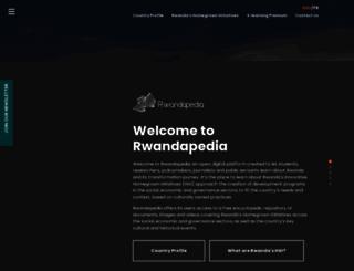 rwandapedia.rw screenshot