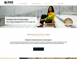 rwb-ag.de screenshot