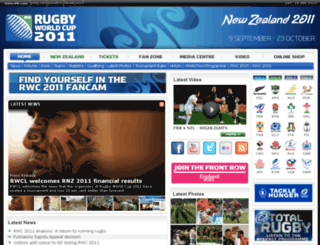 rwc2011.irb.com screenshot