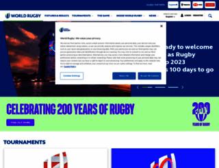 rwcsevens.com screenshot