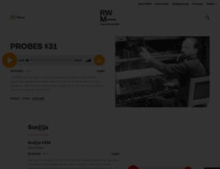 rwm.macba.cat screenshot